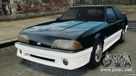 Ford Mustang GT 1993 v1.1 for GTA 4