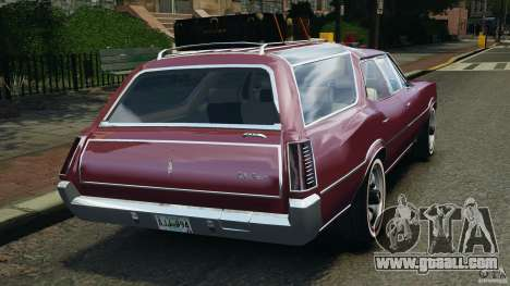 Oldsmobile Vista Cruiser 1972 v1.0 for GTA 4 back left view