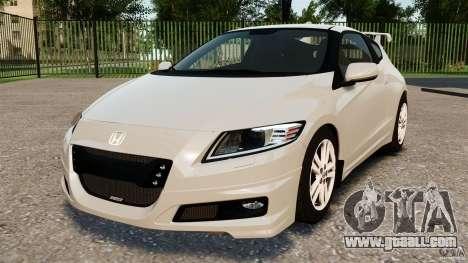 Honda Mugen CR-Z v1.1 for GTA 4