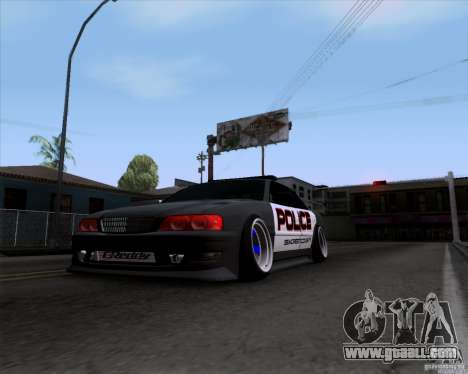 Toyota Chaser jzx100 Drift Police for GTA San Andreas