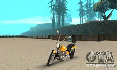 Harley Davidson softail Skin 1 for GTA San Andreas