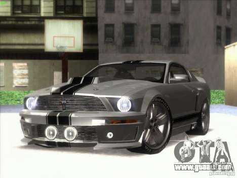 Ford Mustang Eleanor Prototype for GTA San Andreas back left view