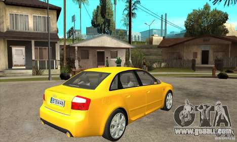 Audi S4 2004 for GTA San Andreas right view