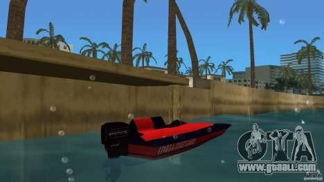 San Andreas Coast Guard for GTA Vice City back left view