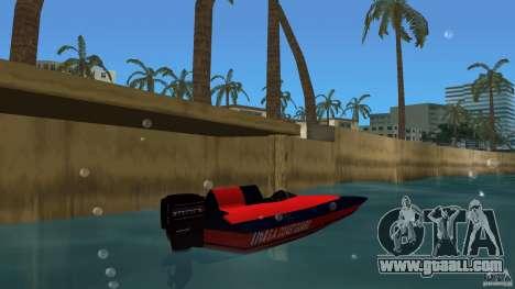 San Andreas Coast Guard for GTA Vice City back left view