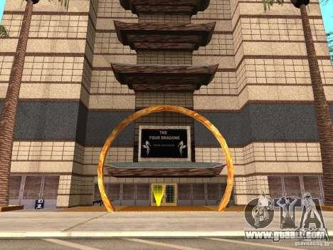 A new kind of Casino 4 Dragon for GTA San Andreas second screenshot