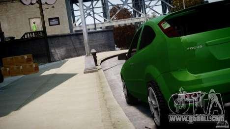 Ford Focus ST for GTA 4 inner view