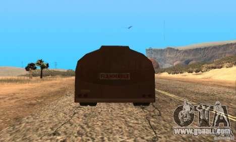 Trailer Duel Peterbilt for GTA San Andreas left view