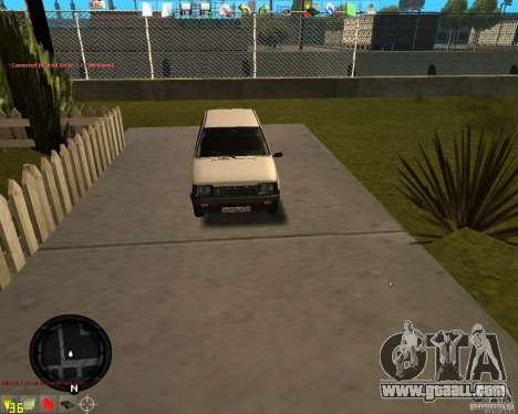 VAZ 11113 OKA for GTA San Andreas left view