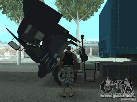Active dashboard v.3.0 for GTA San Andreas second screenshot