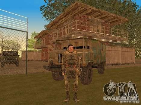 Degtyarev of Stalker for GTA San Andreas third screenshot