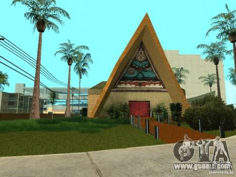 "New textures for the casino ""Piligrim"" for GTA San Andreas"