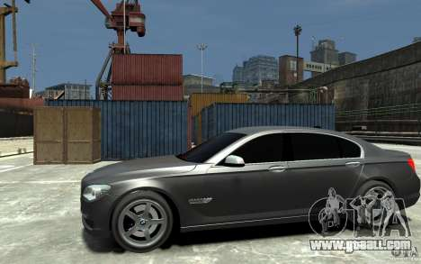 Bmw 750 LI v1.0 for GTA 4 left view
