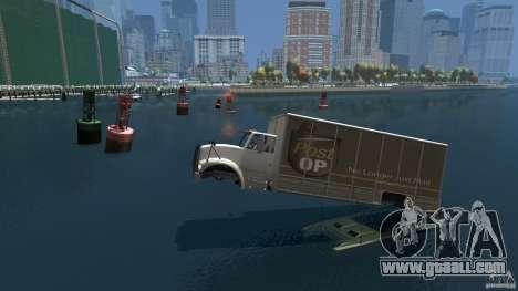 Benson boat for GTA 4 left view