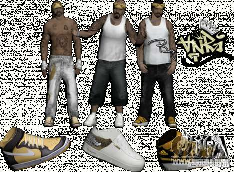 Skins Pack By AnRi for GTA San Andreas second screenshot