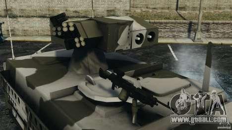 Stryker M1134 ATGM v1.0 for GTA 4 side view