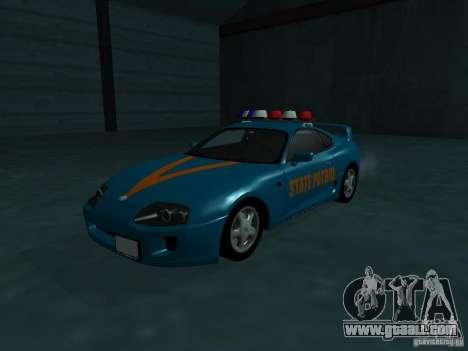 Toyota Supra California State Patrol for GTA San Andreas