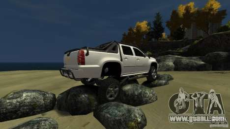 Chevrolet Avalanche 4x4 Truck for GTA 4 side view