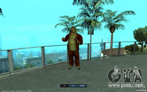 Crime Life Skin Pack for GTA San Andreas fifth screenshot