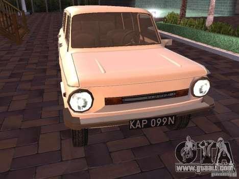 ZAZ 968 m Limousine for GTA San Andreas left view