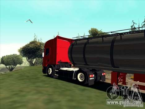Scania 114L for GTA San Andreas back left view