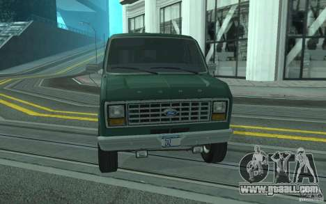 Ford E-150 Short Version v3 for GTA San Andreas side view