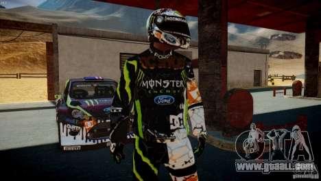 Ken Block Gymkhana 5 Clothes (Unofficial DC) for GTA 4 second screenshot