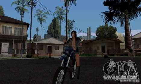 A Strong Rider for GTA San Andreas second screenshot