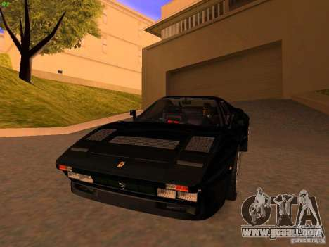 Ferrari 288 GTO for GTA San Andreas left view