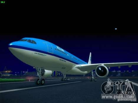 Airbus A330-200 KLM Royal Dutch Airlines for GTA San Andreas