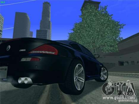 BMW M6 2010 Coupe for GTA San Andreas right view