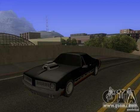 HD Diablo for GTA San Andreas back view