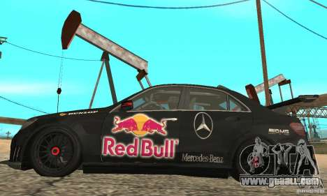 Mercedes-Benz E63 AMG DTM 2011 for GTA San Andreas back view