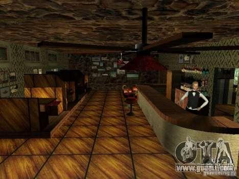 New textures UFO bar for GTA San Andreas sixth screenshot