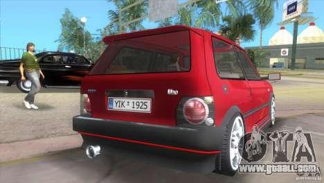 Fiat Uno Turbo for GTA Vice City left view
