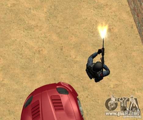 M4 for GTA San Andreas forth screenshot