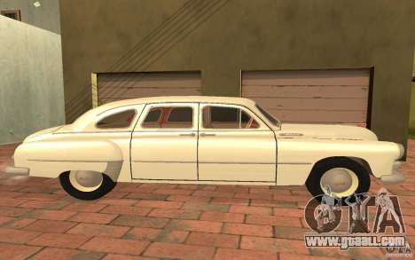 GAZ 12 ZIM for GTA San Andreas back left view