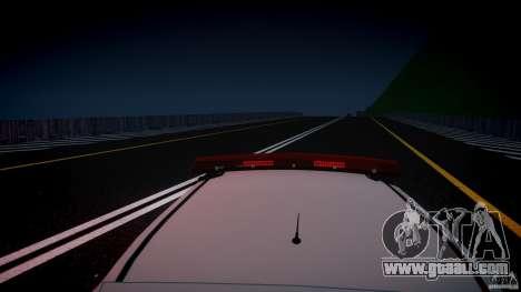 Volkswagen Gol G5 PMSP [ELS] for GTA 4 interior