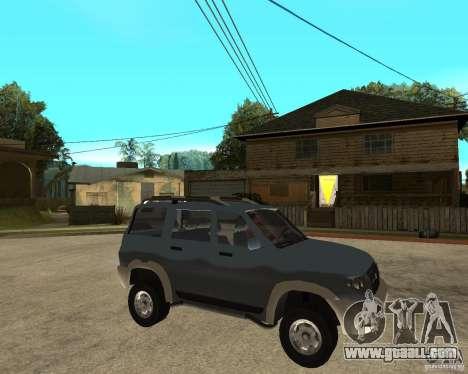 UAZ Patriot 4 x 4 for GTA San Andreas right view
