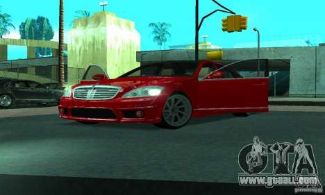 Mercedes-Benz S65 AMG Estate Edition for GTA San Andreas bottom view