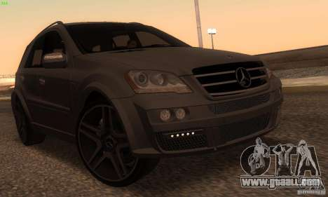 Mercedes-Benz ML63 AMG Brabus for GTA San Andreas left view