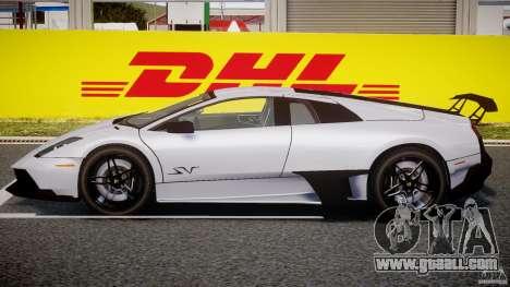 Lamborghini Murcielago LP670-4 SuperVeloce for GTA 4 back left view
