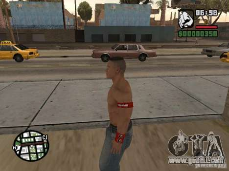 John Cena for GTA San Andreas second screenshot