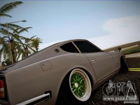 Nissan 280 Fairladyz 4.32 for GTA San Andreas right view