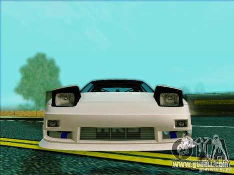 Nissan 240SX for GTA San Andreas side view