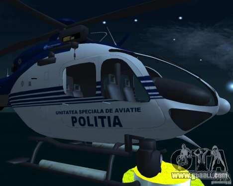 EC-135 Gendarmerie Police for GTA San Andreas right view