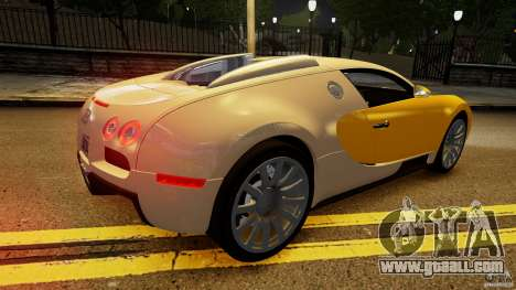 Bugatti Veyron 16.4 v1.0 wheel 2 for GTA 4 upper view