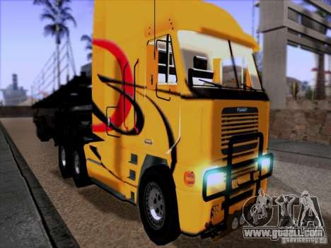 Freightliner Argosy Skin 2 for GTA San Andreas left view