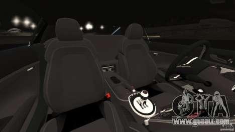 Audi R8 5.2 Stock Final for GTA 4 inner view