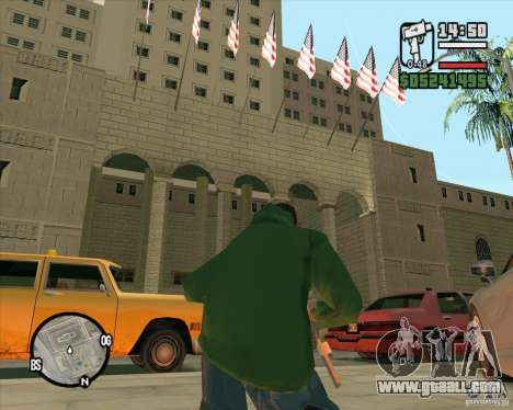 Improved texture of City Hall for GTA San Andreas third screenshot